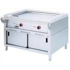 Diamond Teppanyaki grill elektrisch 2-zone met het kabinet | 2x 3,5 kW | 1200x770x (H) 850mm