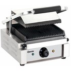 Bartscher Electric Contact Grill - Grooved Plates | 1800W
