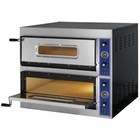Fast Pizza Pizza oven 2-kamer | 8400W | 230 / 400V | 900x785x (H) 750mm