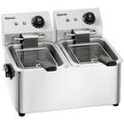 Bartscher Double SNACK II double fryer 2x4L | 2x2000W | 230V | 435x400x (H) 315mm