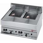 Diamond 2X8L gas fryer | 700x650x (H) 280 / 380mm