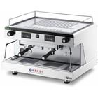 Hendi Flask coffee machine HENDI Top Line by Wega 2-gang | electronic white 3.7 kW