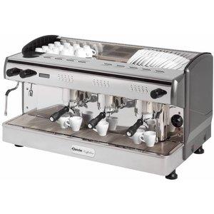 Bartscher Ekspres ciśnieniowy do kawy 3-grupowy Coffeeline G3 | 4300 W