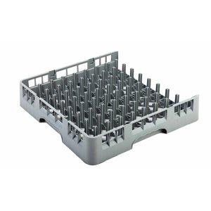 AmerBox Kosz otwarty na talerze i tace | 500x500x(H)101mm