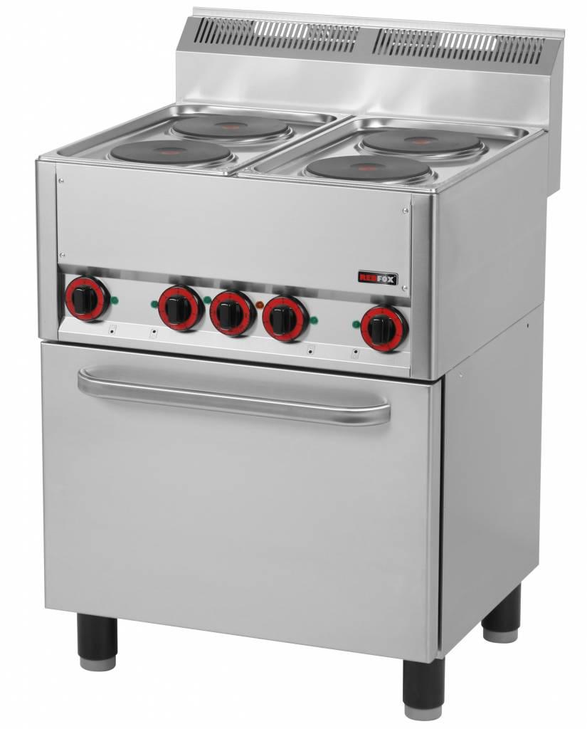 Redfox Kuchnia Elektryczna Z Piekarnikiem 11130w 660x600xh860920mm