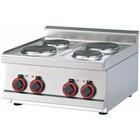 RM GASTRO Kuchnia elektryczna | 6000W | 600x600x(H)280mm