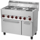 RedFox Kuchnia elektryczna zpiekarnikiem | 13300W | 990x600x(H)860/920mm