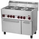 RedFox Kuchnia elektryczna zpiekarnikiem | 15130W | 990x600x(H)860/920mm