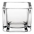 Olympia Świecznik szklany | 6 szt. | 6x6x(H)5cm