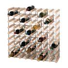 XXLselect Drewniany stojak na wino | 81x23x(H)81cm