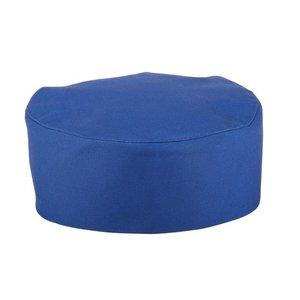 Whites Chefs Clothing Krótka czapka kucharska niebieska