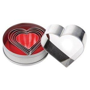 Vogue Zestaw rantów w kształcie serca 6 elementów