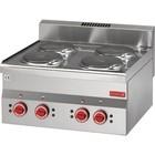 Gastro M Kuchenka elektryczna 600 60/60 PCE | 6000W| 600x600x(H)280mm