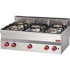 Gastro M Kuchnia gazowa 5 palników | 15000W