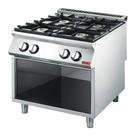 Gastro M Kuchnia gazowa 4 palnikowa | 18400W