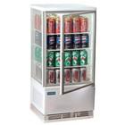 Polar Refrigeration Witryna chłodnicza | biała | 68L | 2°C do 12°C | 428x386x(H)885mm