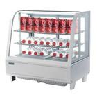 Polar Refrigeration Witryna chłodnicza nablatowa | 2°C do 12°C | 682x450x(H)675mm