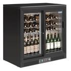 Polar Refrigeration Chłodziarka na wino z drzwiami suwanymi | 254L