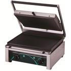 Resto Quality Grill elektryczny kontaktowy panini 380x280 mm | 2 płyty ryflowane