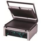 Resto Quality Grill elektryczny kontaktowy panini 380x280 mm | dolna płyta gładka