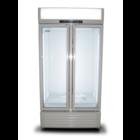 XXLselect Szafa chłodnicza z przeszklonymi drzwiami | pojemność netto 597L