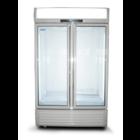 XXLselect Szafa chłodnicza z przeszklonymi drzwiami | pojemność netto 823L