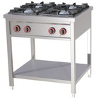 Redfox Four-burner gas cooker 25kW