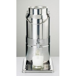 APS Container for Milk of Stainless Steel for Dispenser | 5L
