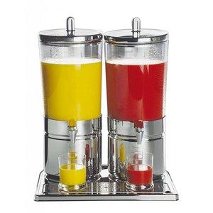 APS Dyspenser do soków podwójny | 2x6L | 420x320x520mm