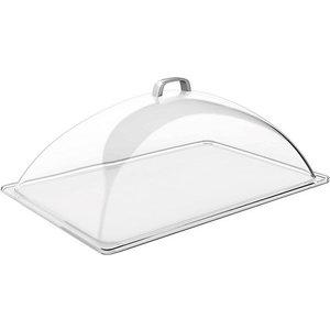 APS Pokrywa prostokątna z tworzywa sztucznego | przeźroczysta | 540x330x200mm