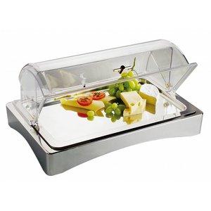 APS Witrynka chłodząca prostokątna | GN 1/1 | 565x360x85mm