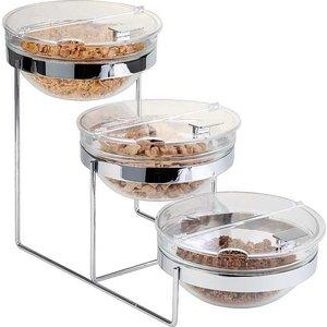 APS Etażera bufetowa | 3 x salaterki 2,5L | 610x240x350mm