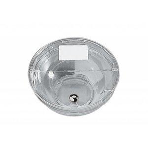 APS Pokrywa do salaterki przeźroczysta z uchwytem w chromowanym | średnica 145mm