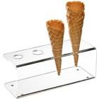 APS Stojak akrylowy na lody | 245x95x(H)90mm