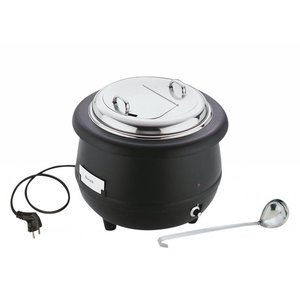 APS Kociołek elektryczny na zupę z chochlą | 10L | 450W | śr. 400x(H)370nn