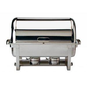 APS Podgrzewacz na paliwo prostokątny GN 1/1 | 9L | 670x350x450mm
