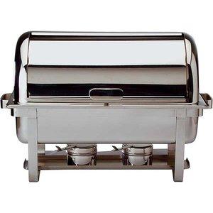 APS Uniwersalna pokrywa roll-top do podgrzewaczy GN 1/1 | 550x340x195mm