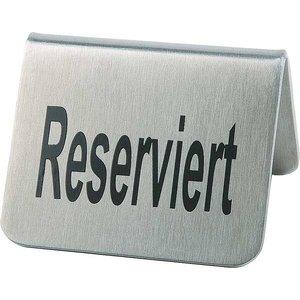 "APS Tabliczka ""Reserviert"" | zestaw 2 szt."