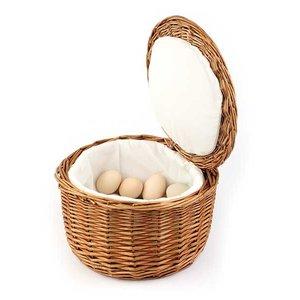 APS Termiczny koszyk wiklinowy na jajka | śr. 260x(H)170mm