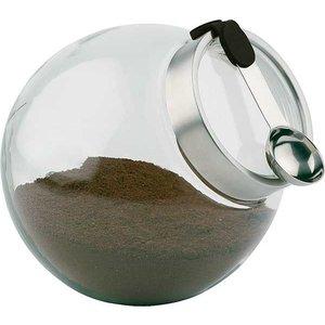 APS Pojemnik szklany z łyżeczką | przeźroczysty | 3L | śr. 200x(H)180mm