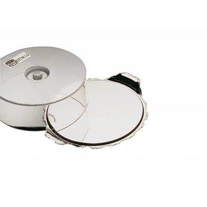 APS Taca do serwowania z uchwytami i pokrywą | okrągła | śr. 320x(H)100mm