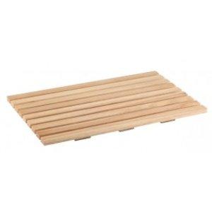 APS Deska prostokątna drewniana do krojenia pieczywa | GN 1/1 | 530x325mm