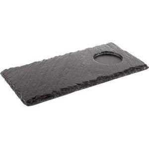 APS Taca serwingowa prostokątna z kamienia łupkowego | 250x120mm