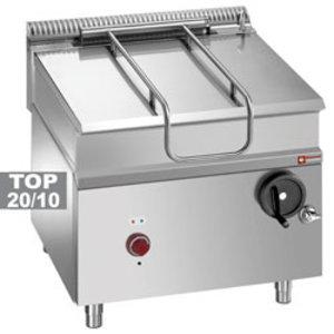 Elektrische kantelbare pan 80 L   800x900x (H) 850 / 920mm