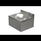 XXLselect Umywalka ze stali nierdzewnej | jednokomorowa | obudowana | bateria stojąca | 400x350x(H)220mm
