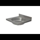 XXLselect Umywalka ze stali nierdzewnej | jednokomorowa | 400x400x(H)120mm