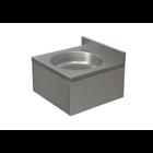 XXLselect Umywalka ze stali nierdzewnej | jednokomorowa | obudowana | 400x400x(H)220mm