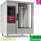 Diamond Piec gazowy konwekcyjno-parowy, 10x GN 1/1 + system mycia