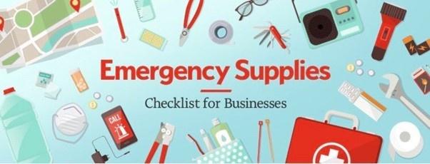 Lista zaopatrzenia na wypadek sytuacji kryzysowych