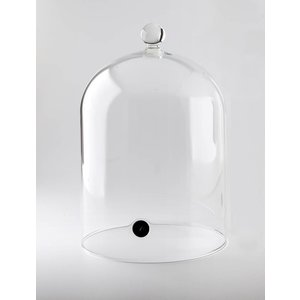 100%Chef High lid for glasses with a stopper
